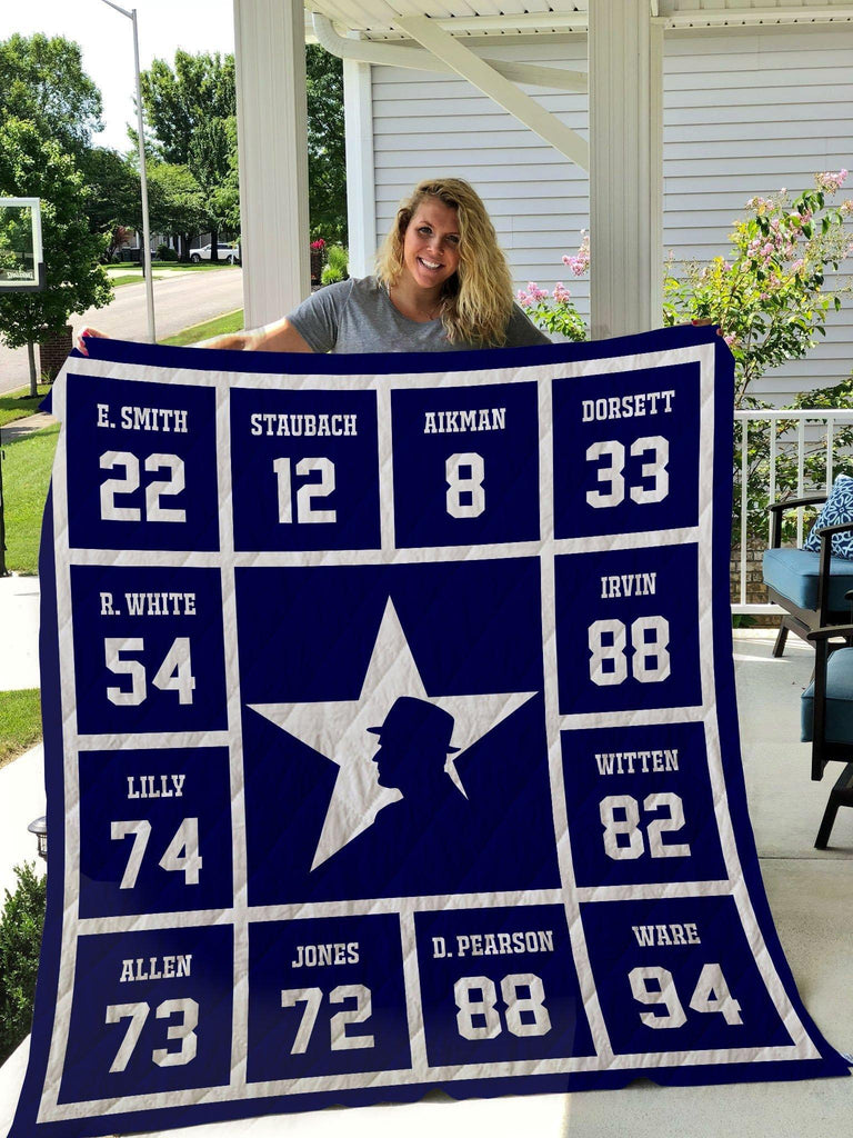 Dallas Cowboys Legends 02 Quilts