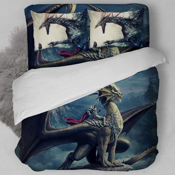 Dragon Encounter Bedding Set