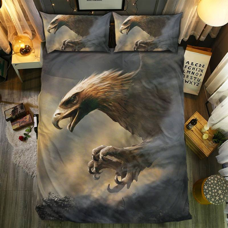 EAGLES COLLECTION BEDDING SET.