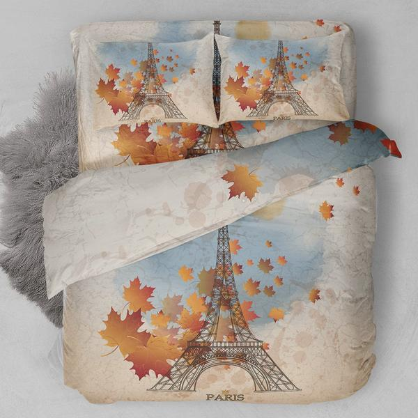 Eiffel Paris Bedding Set