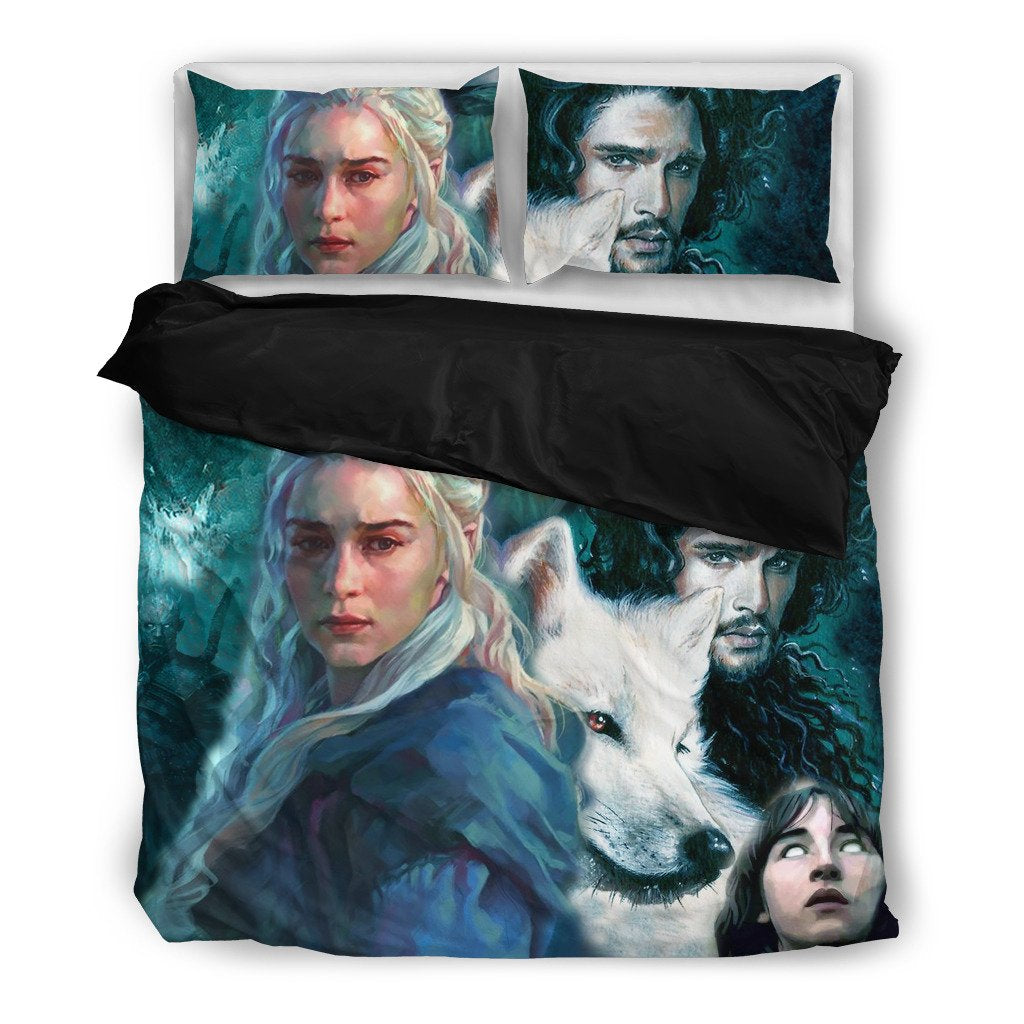 FIRE AND ICE BEDDING SET