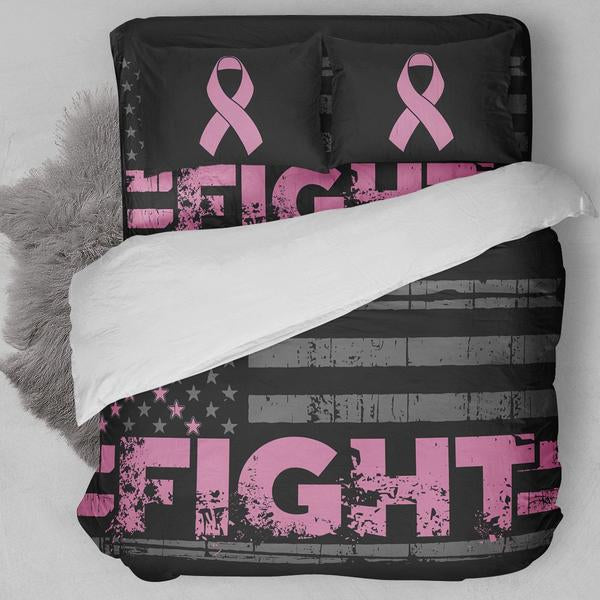 Fight Breast Cancer Bedding Set