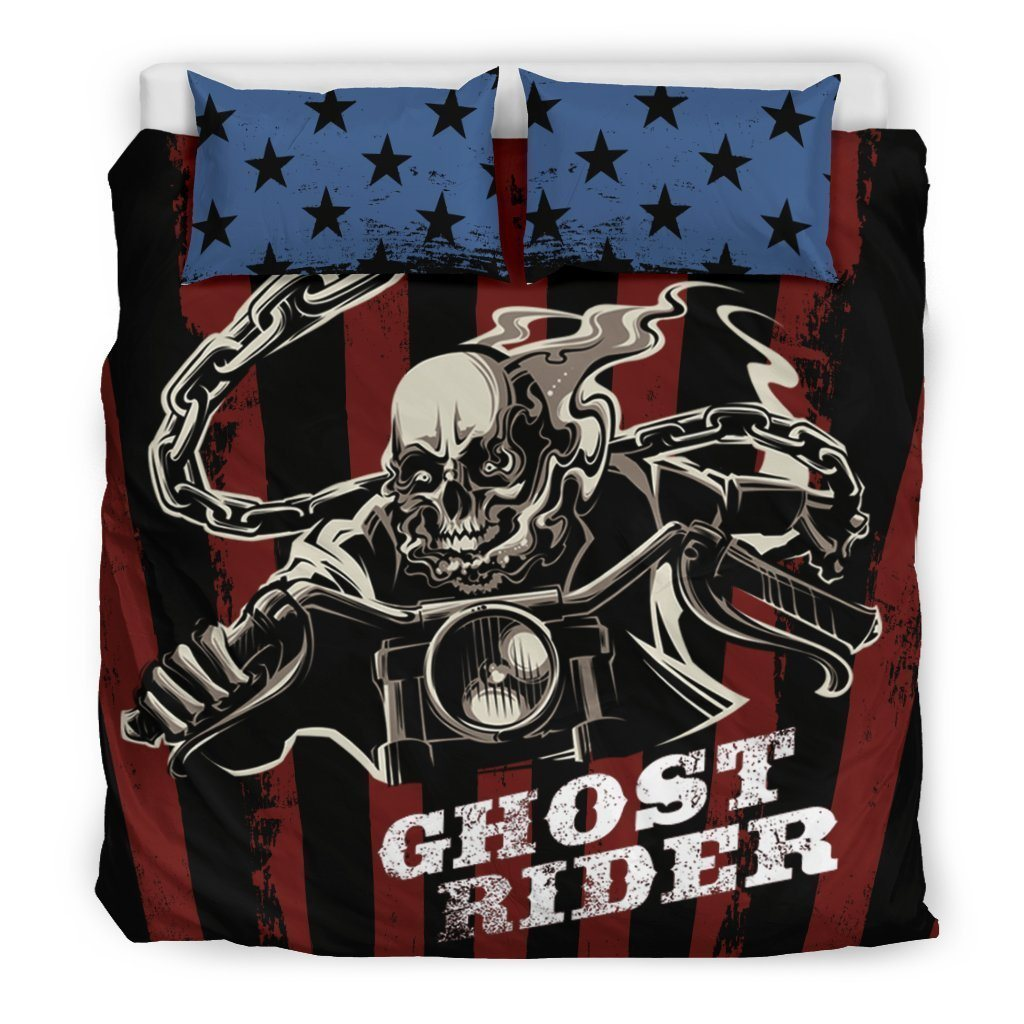 Ghost Rider Bedding Set