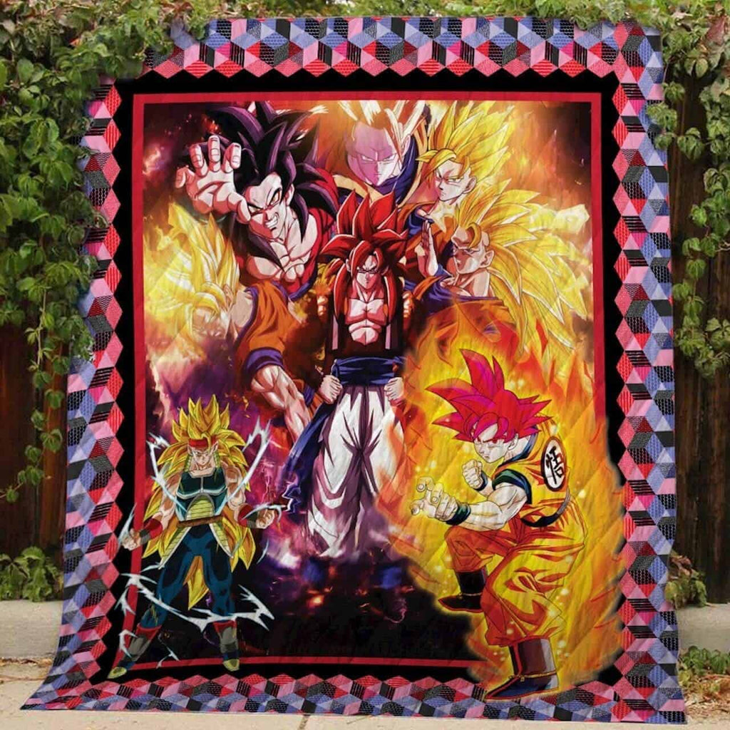 Goku Transformations Quilts 1