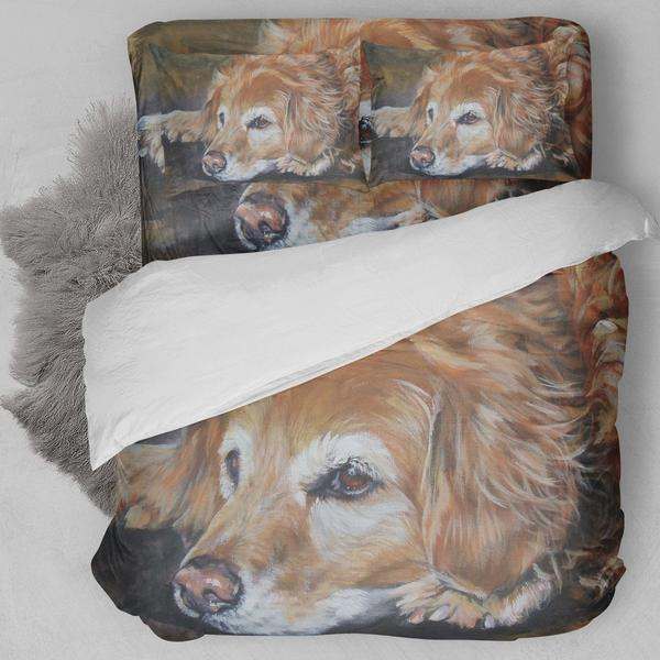 Golden Retrievers B Bedding Set