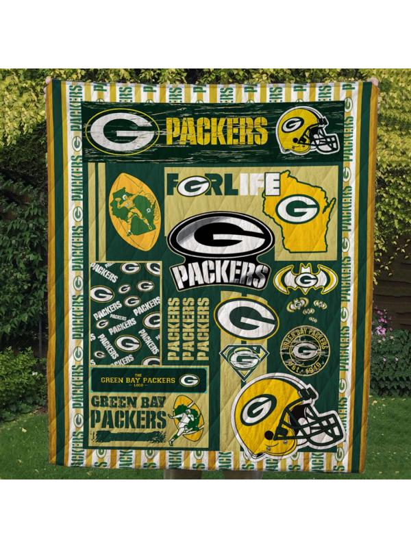 Green Bay Packers Team Blanket Quilts