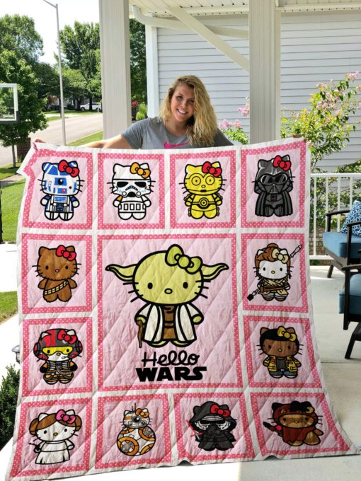 Hello Kitty Star Wars Quilts