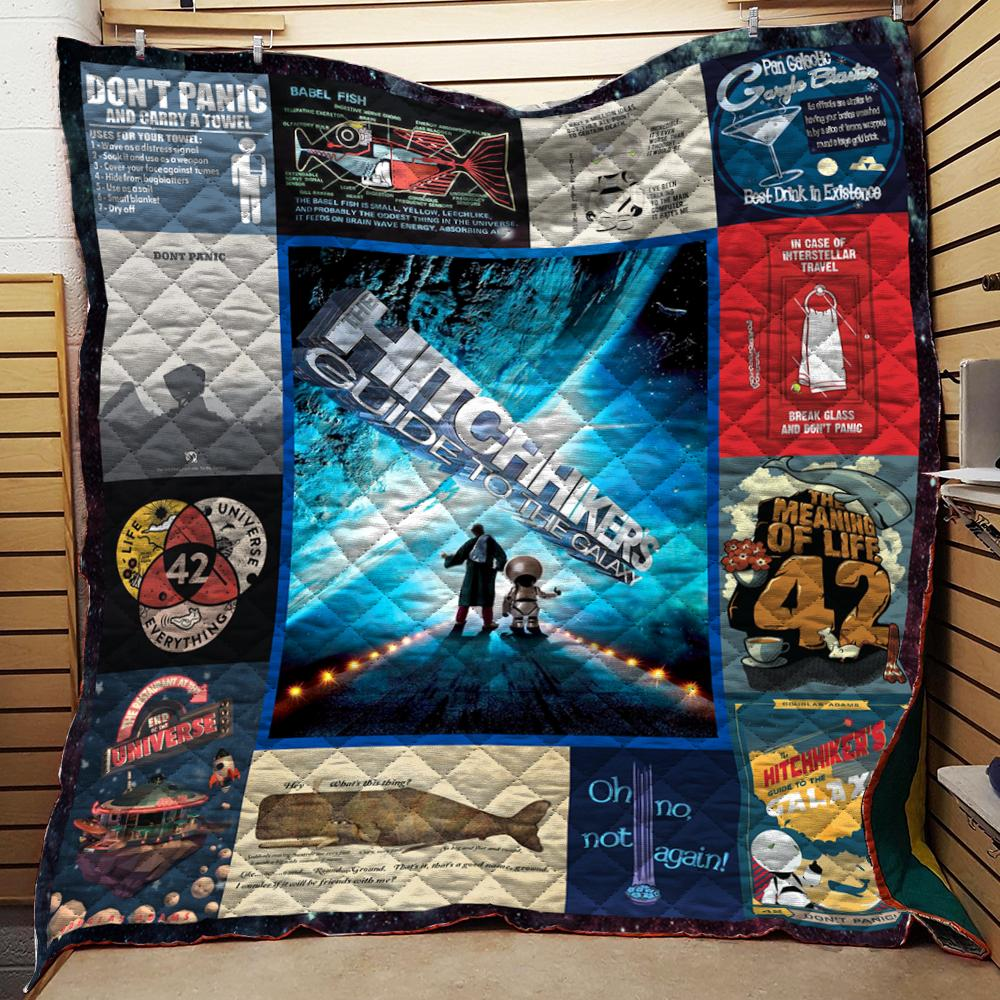 Hitchhiker's Guide To The Galaxy Quilts