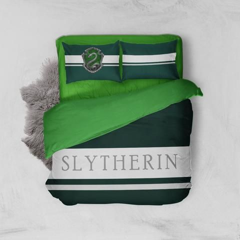 Hogwarts House Slytherin Harry Potter Bedding Set