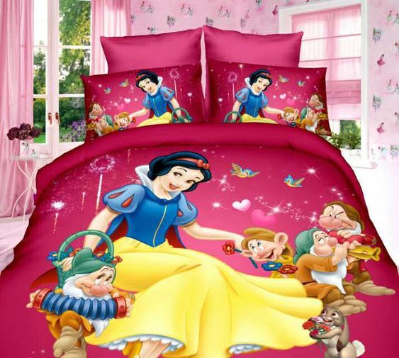 Home Textiles princess cartoon style bedding set