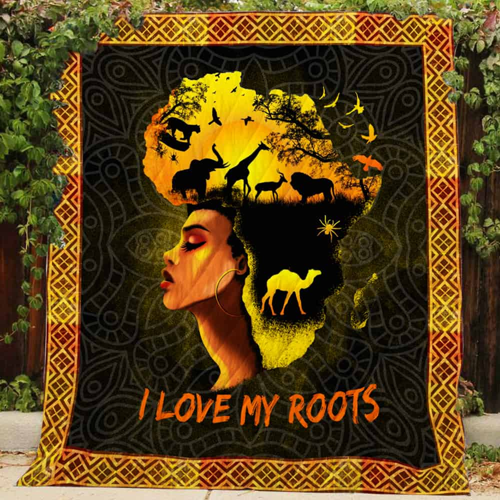 I love my roots  Quilts