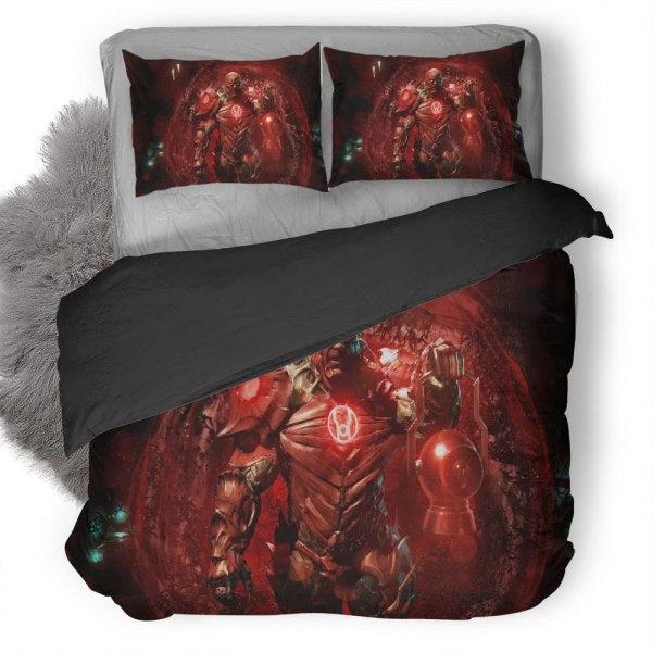 Injustice 2 Atrocitus Bedding Set