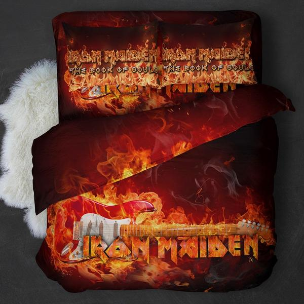 Iron Maiden Guitar Bedding Set