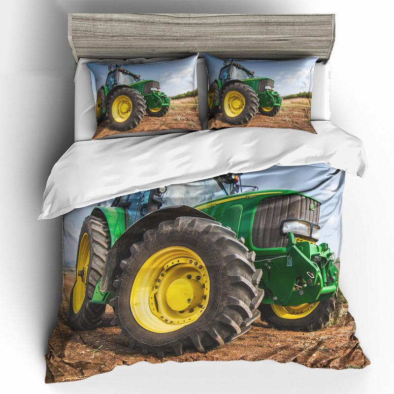 JOHNDEERE BEDDING SET JOHN DEERE