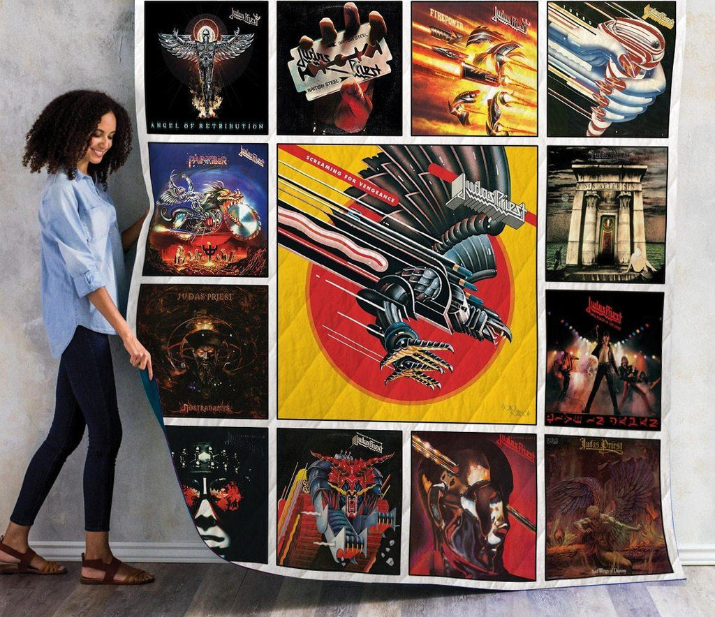 Judas Priest Best Albums Quilts 1