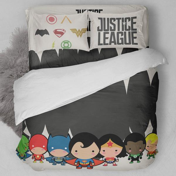 Justice League Animated Bedding Set