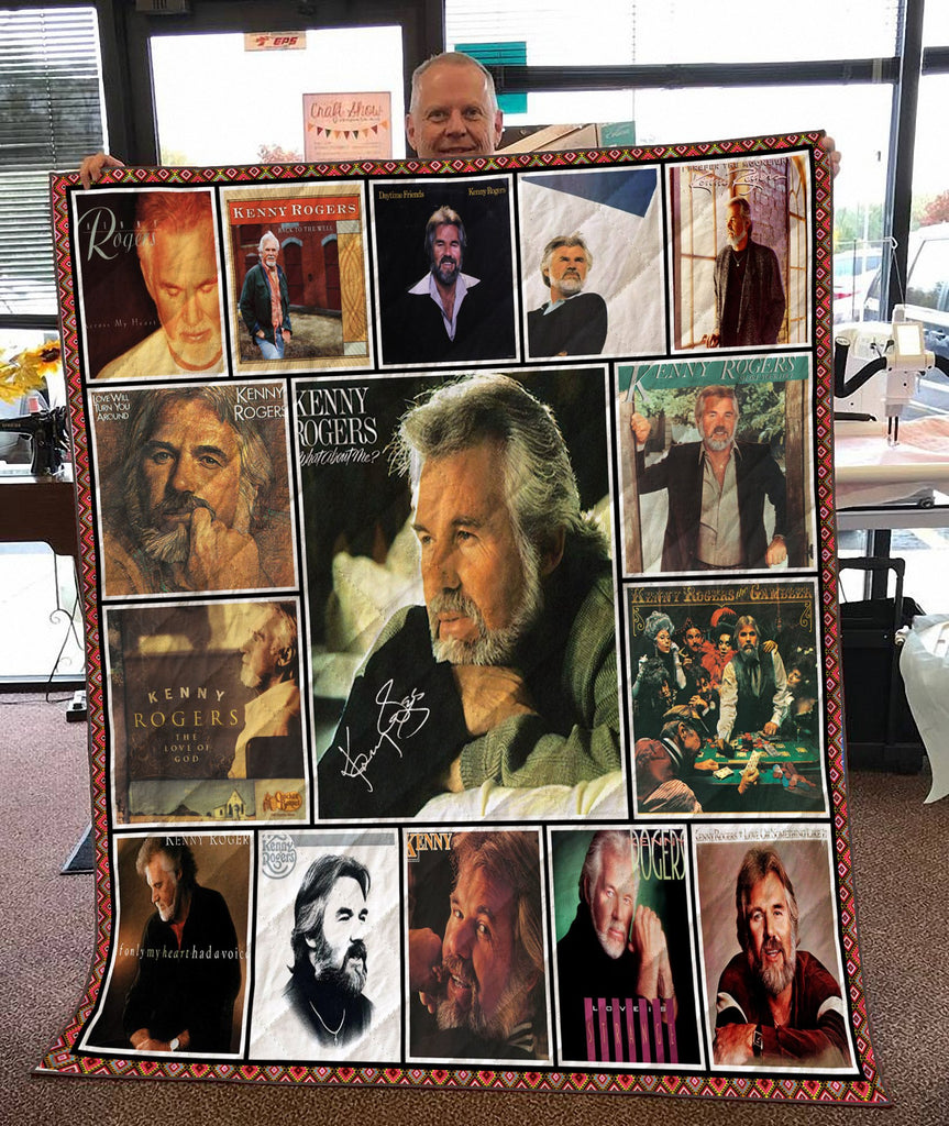 KENNY ROGERS - 3D QUILT