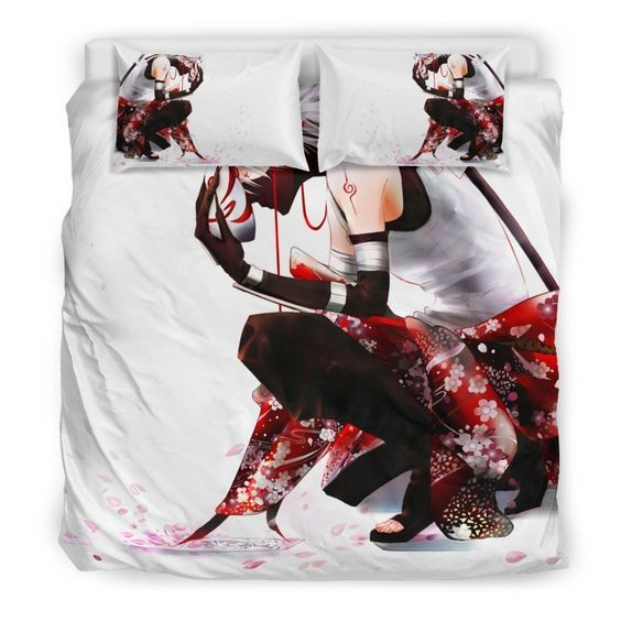 Kakashi Hatake Anime Bedding Set