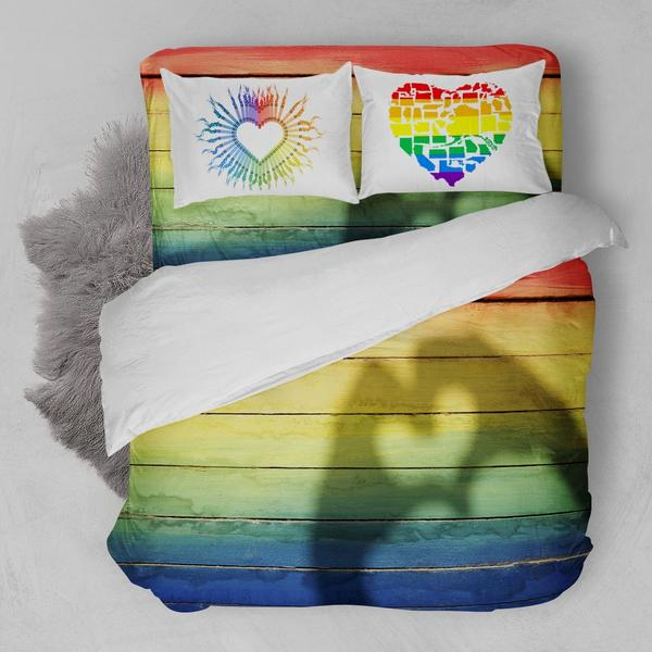 LGBT AMERICAN FLAG A BEDDING SET