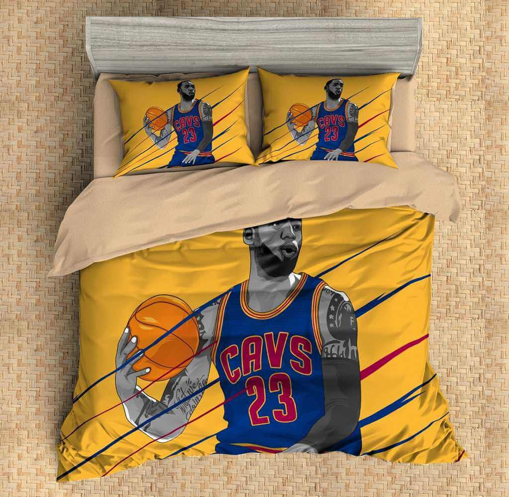 LeBron James Duvet Cover Set BEDDING SET