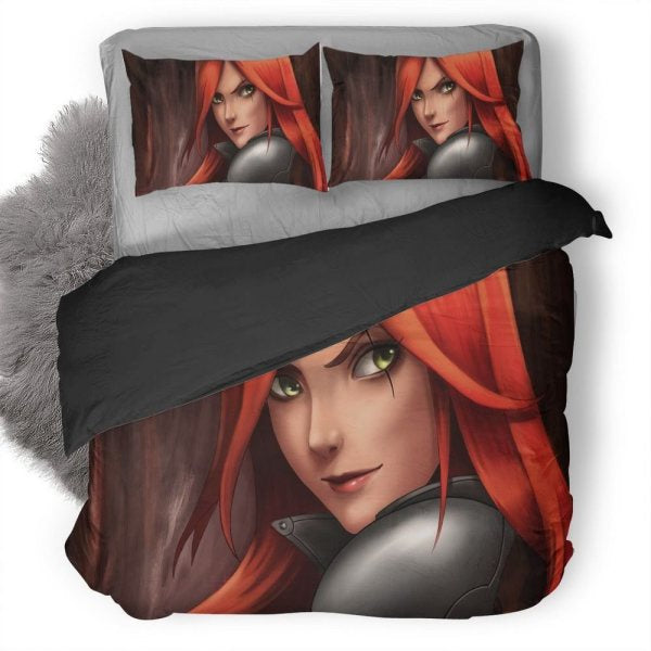 League Of Legends Katarina Bedding Set 4