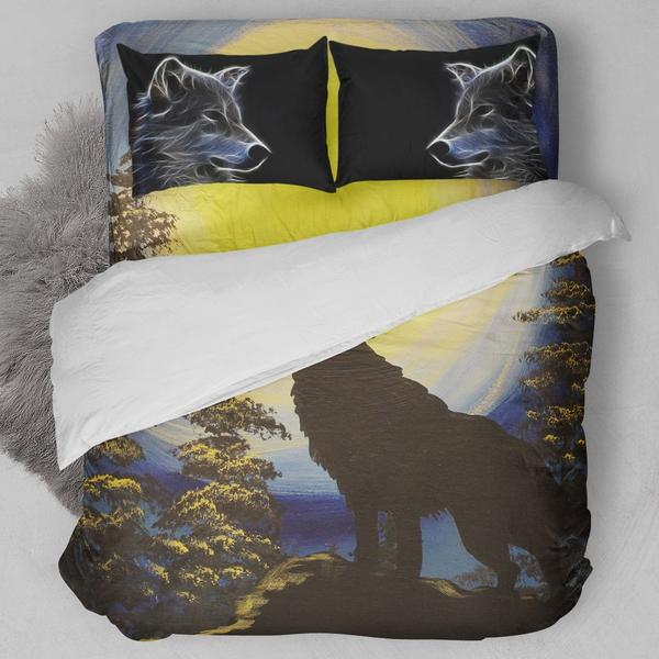 Lone Wolf Bedding Set
