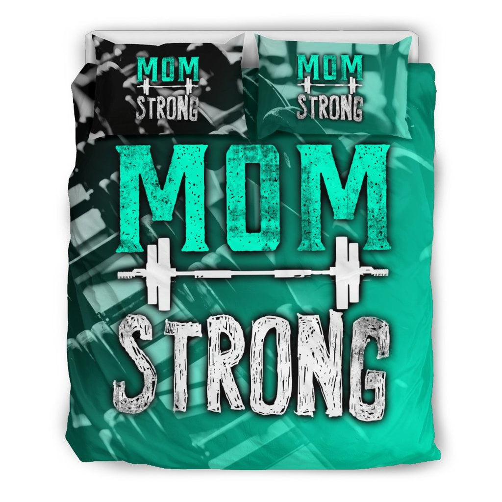 MOM STRONG 3D CUSTOMIZE BEDDING SET