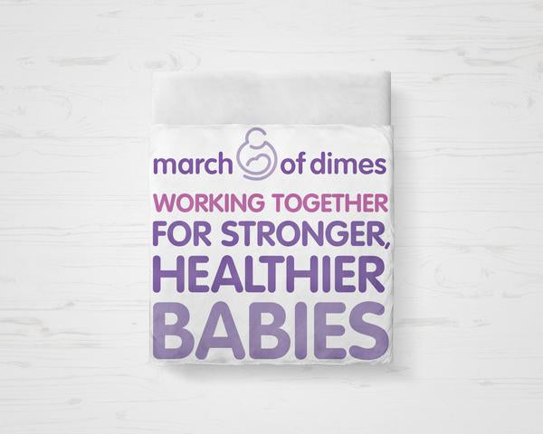 March Of Dimes Bedding Set
