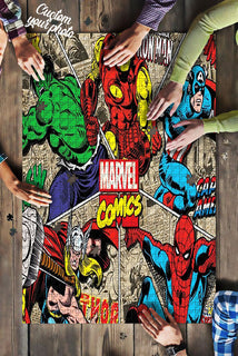 Marvel Super Heroes  Comic Puzzle 500 Pieces