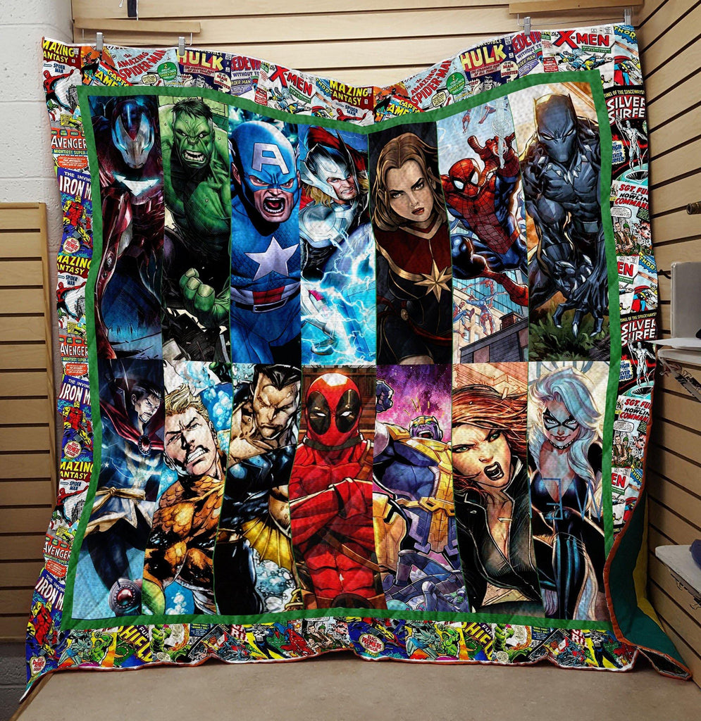 Marvel Superhero Comic Quilts