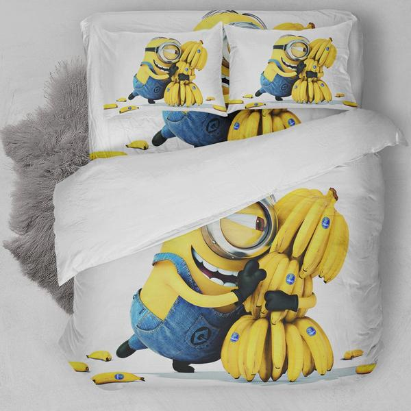 Minion Banana Bedding Set