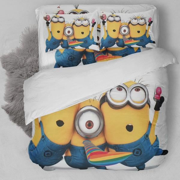 Minions Party Bedding Set
