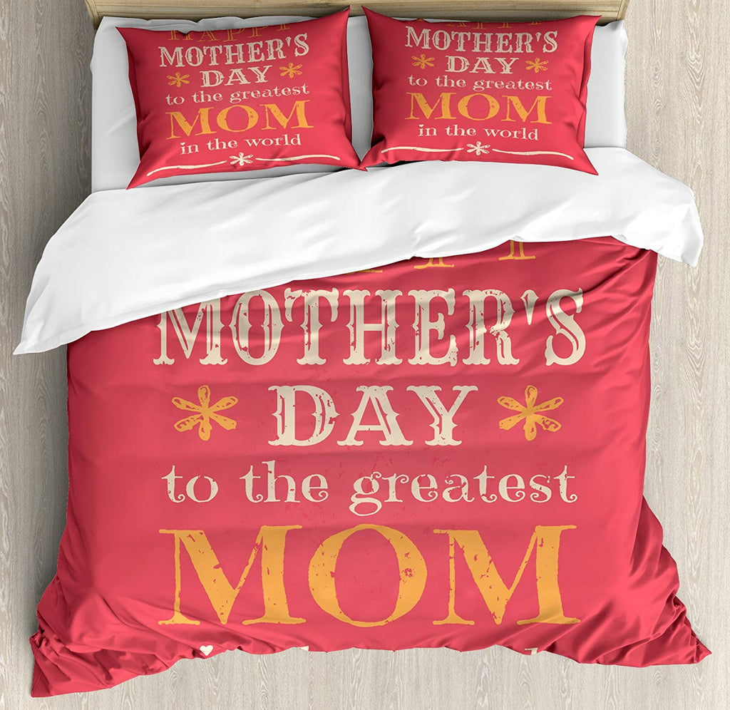 Mothers Day  bedding set