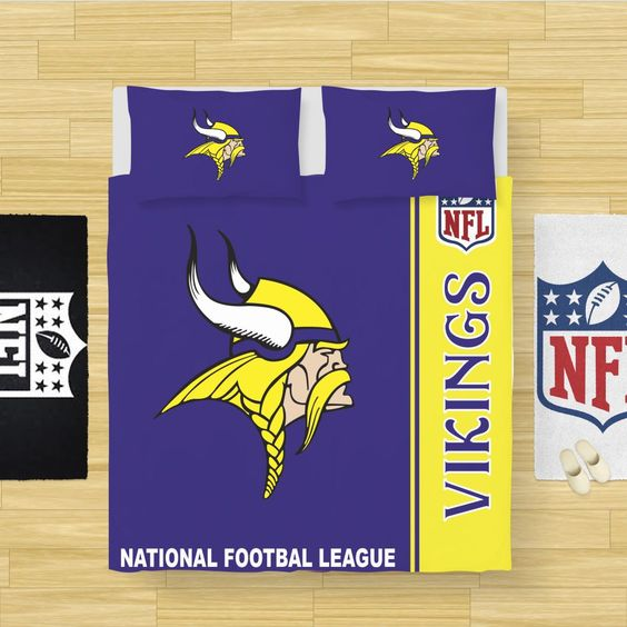 NFL Minnesota Vikings Bedding Comforter Set