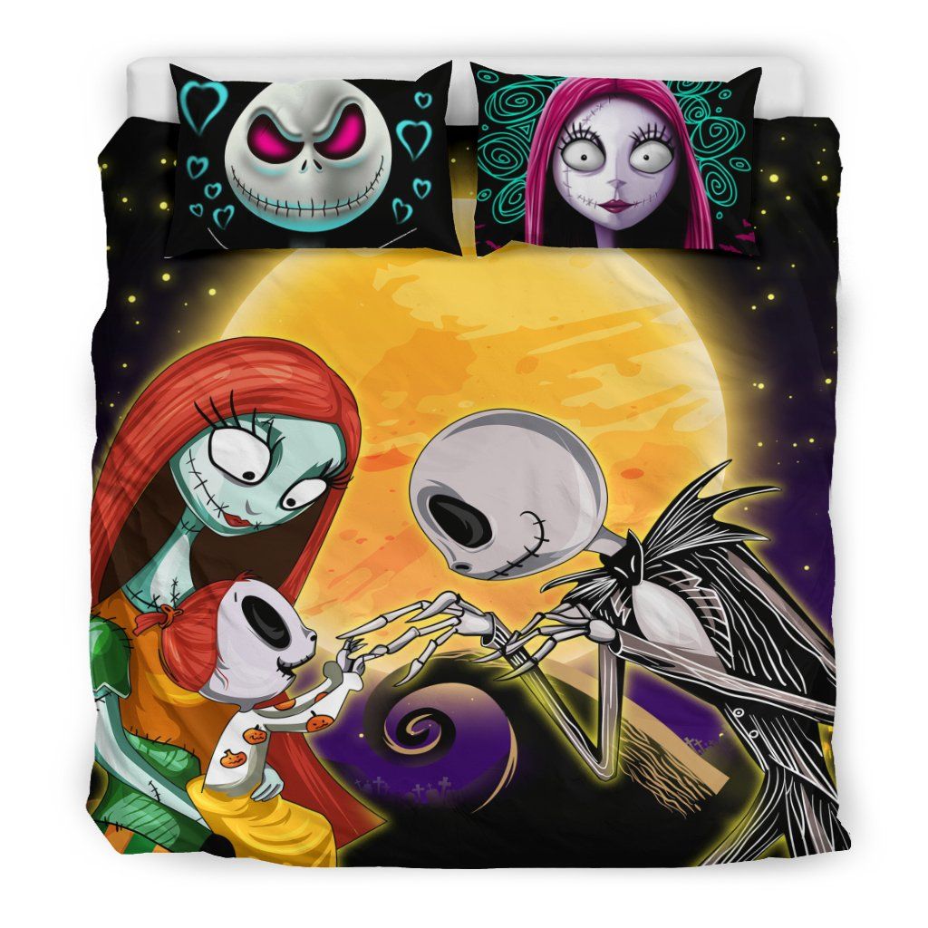 Nightmare Before Christmas Family Bedding Set