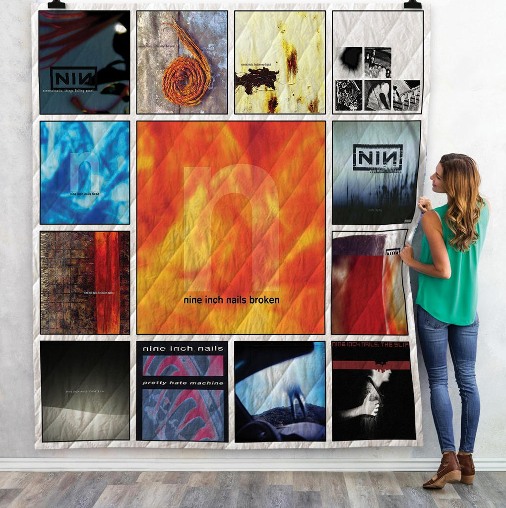 Nine Inch Nails Albums Quilts 4
