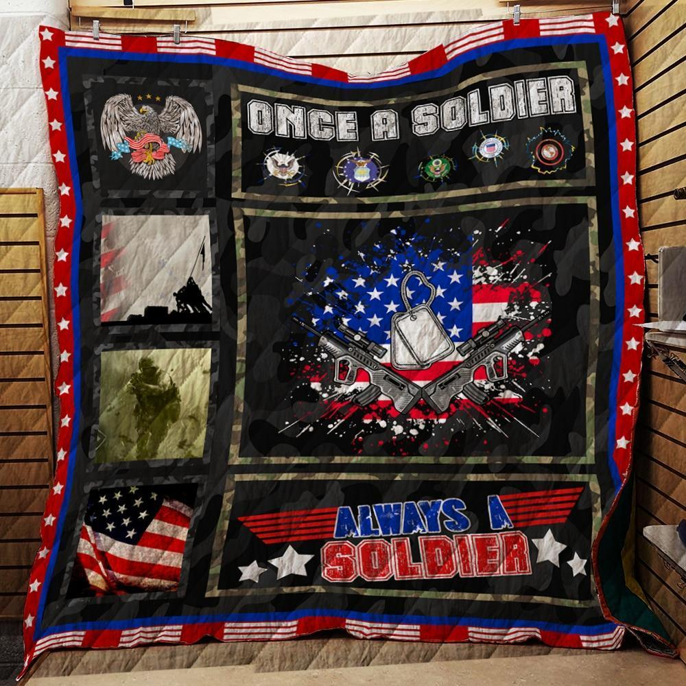 Once A Soldier, Always A Soldier - Quilts