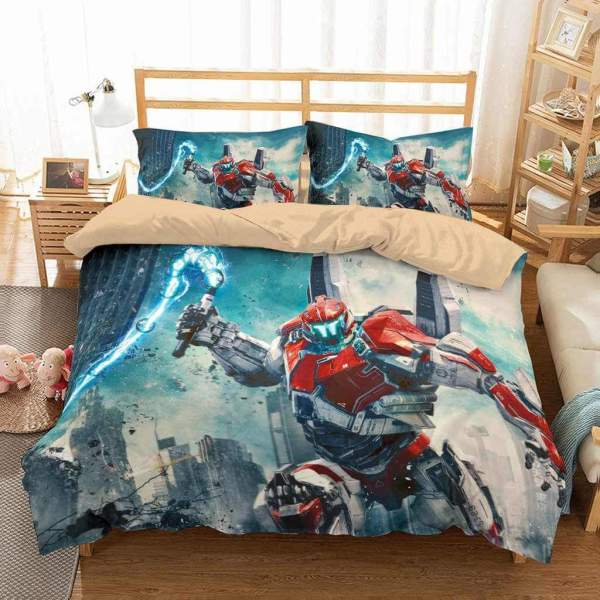 Pacific Rim Uprising Bedding Set