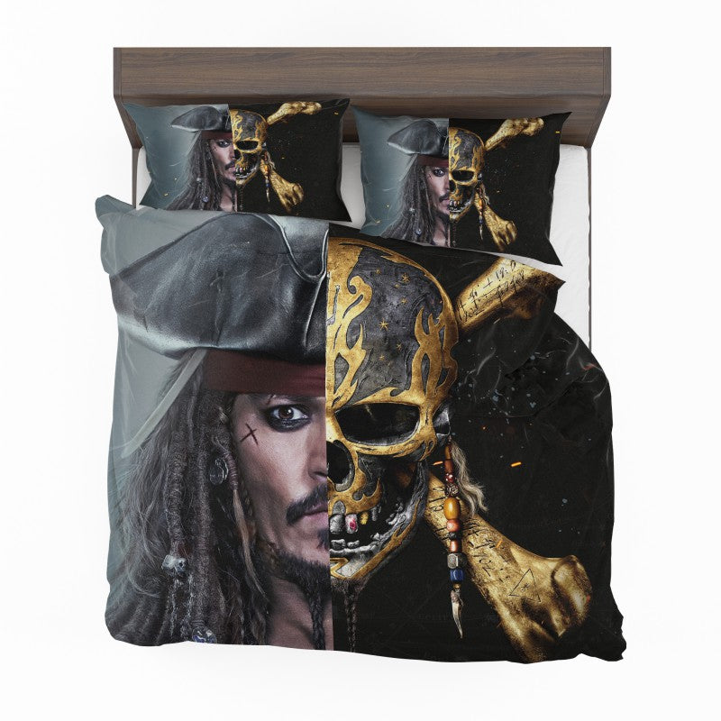 Pirates of the Caribbean Johnny Depp Bedding Set