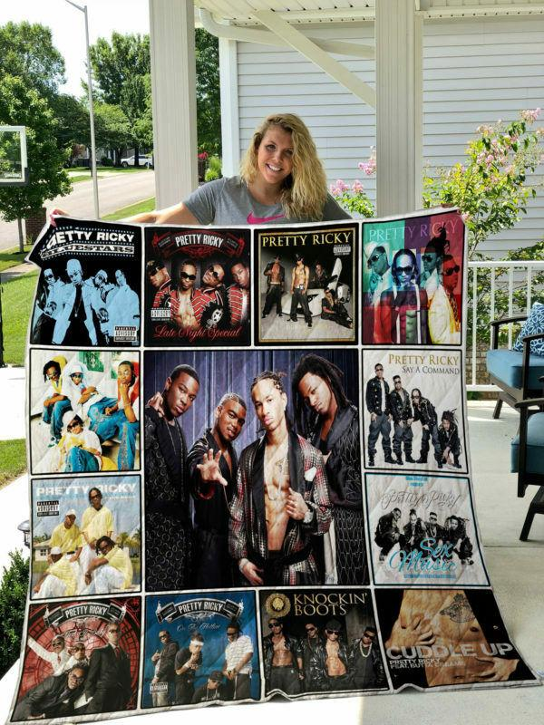 Pretty Ricky Blanket Quilts 1