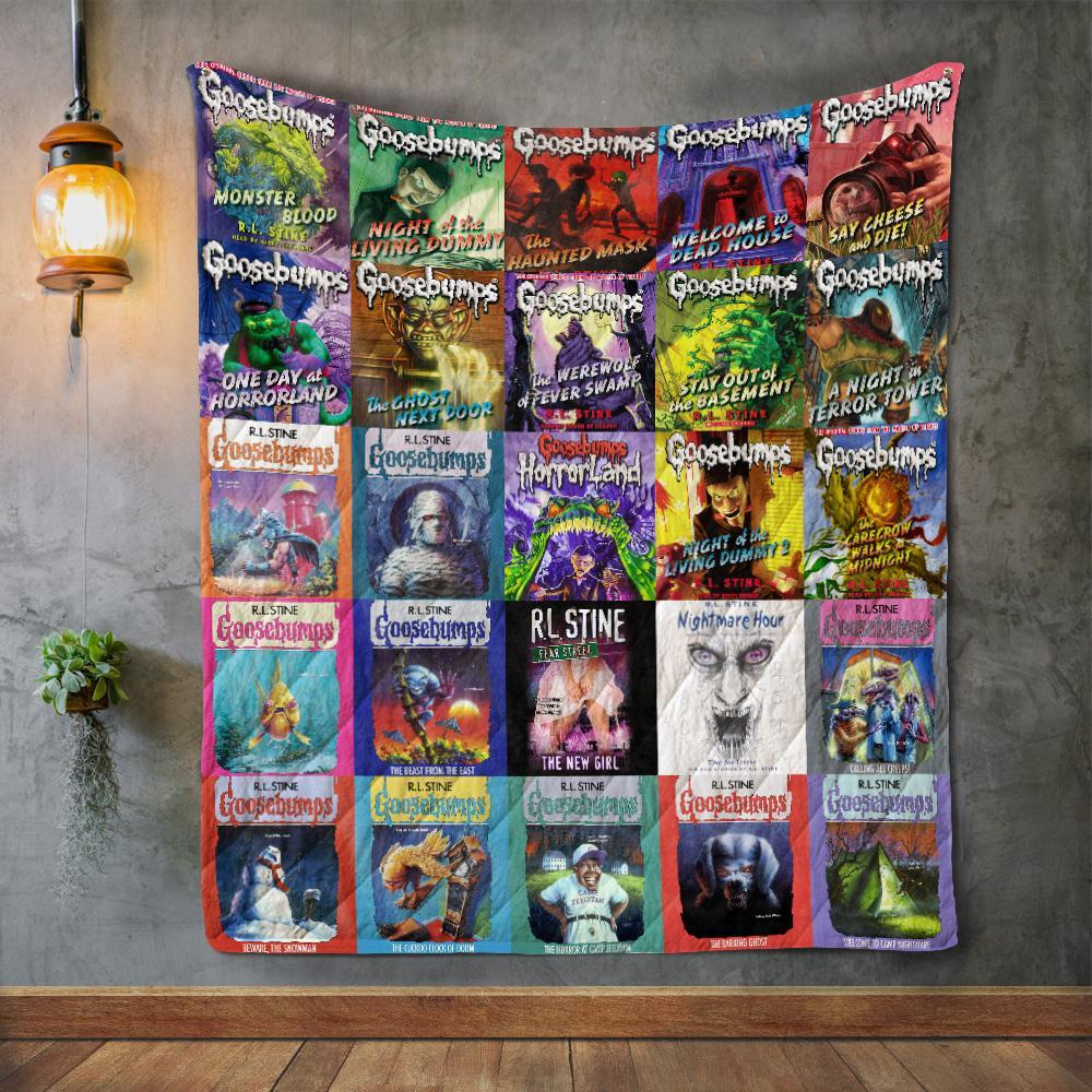 R. L. Stine Books Quilts