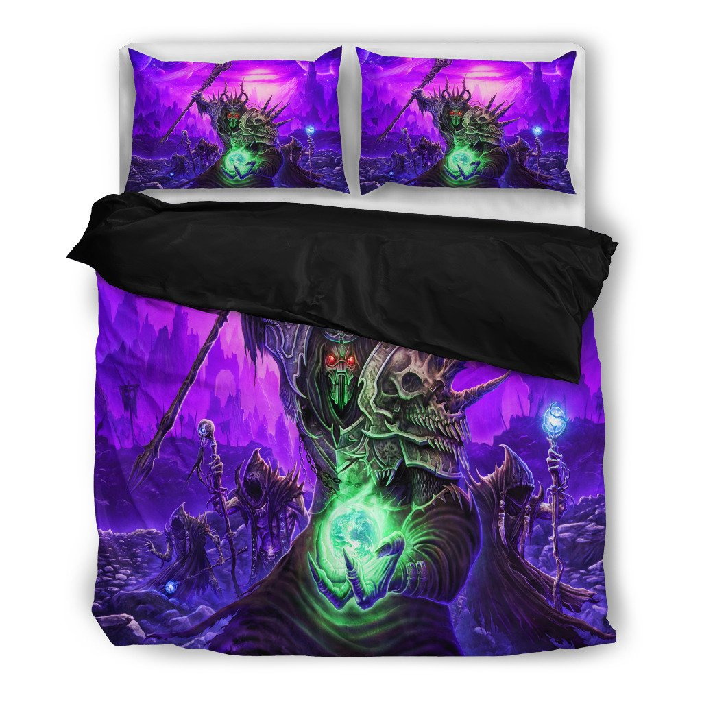 RISE OF THE CHAOS WIZARDS GLORYHAMMER BEDDING SET