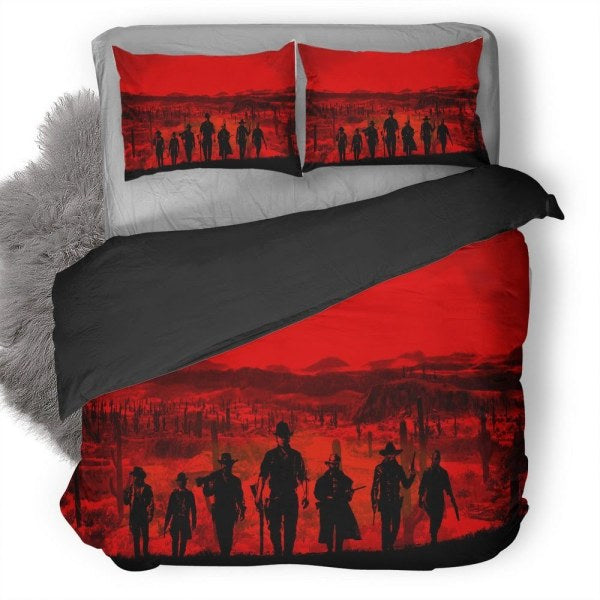 Red Dead Redemption Bedding set V11