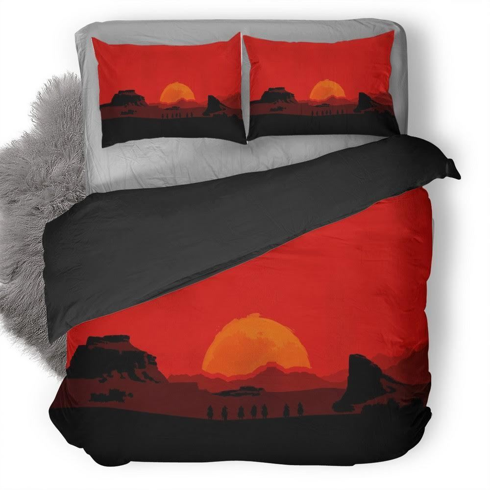 Red Dead Redemption Bedding set V9
