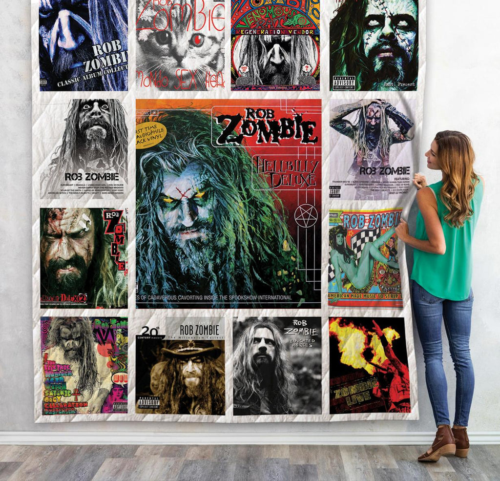 Rob Zombie Albums New Quilts
