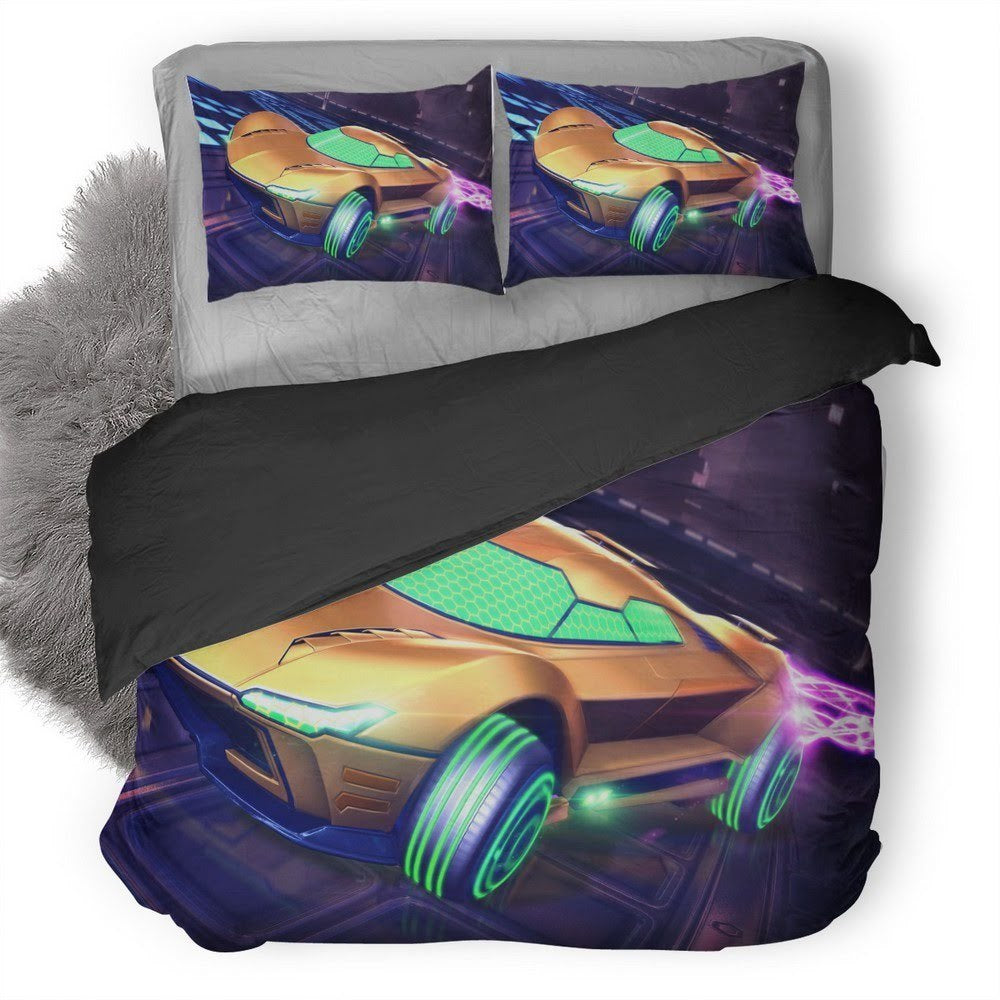 Rocket League Samus Gunship Bedding Set