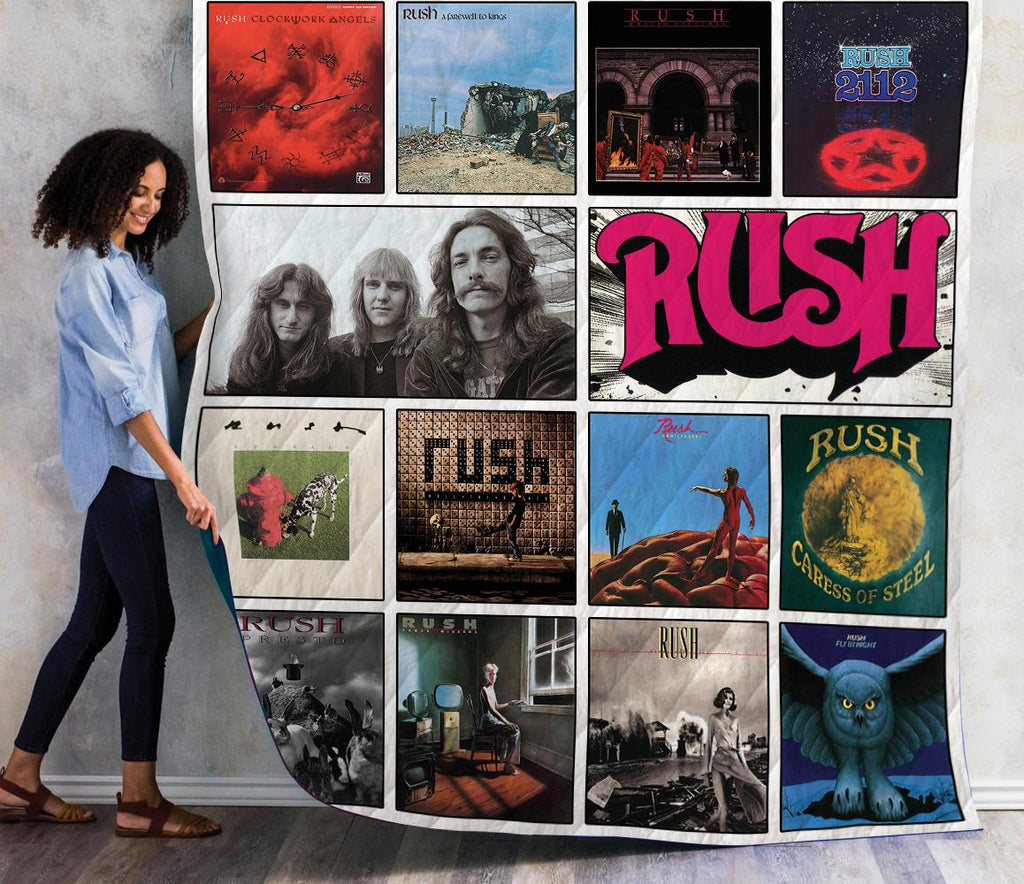 Rush Lp Albums New Quilts
