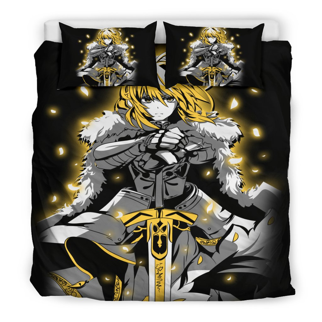 Saber Fate Stay Night Bedding Set