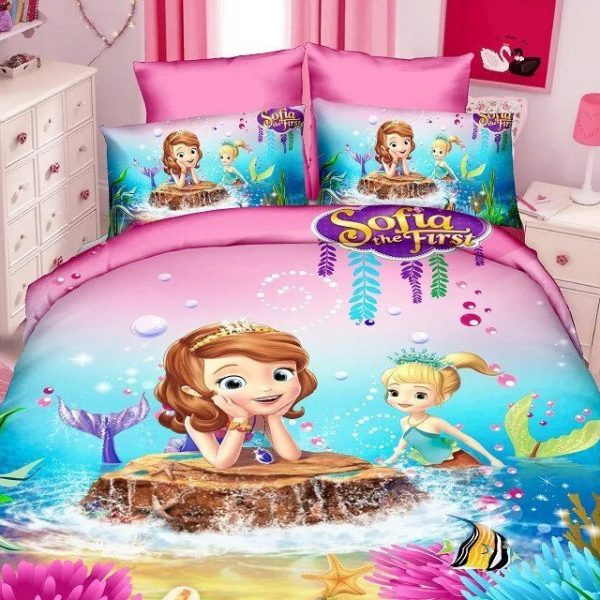 Sophia Princess Bedding Set