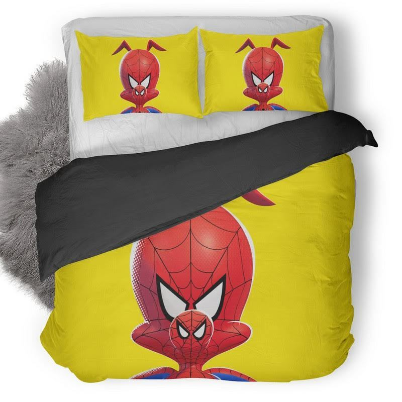 Spider Ham In Spiderman Into The Spider Verse Bedding Set 1